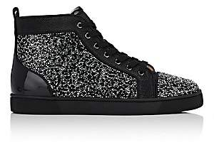 Christian Louboutin Men's Louis Flat Sneakers - Black