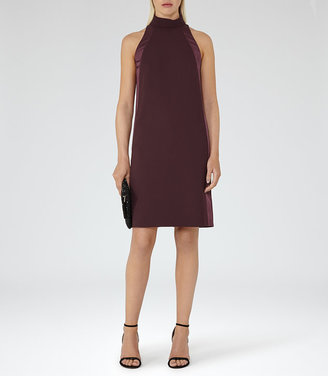 Kaelin High-Neck Shift Dress $350 thestylecure.com