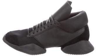 Rick Owens x Adidas Runner Low-Top Sneakers