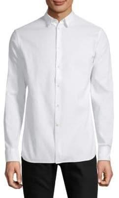 J. Lindeberg Cotton Button-Down Shirt