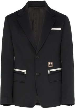 Prada zip pocket blazer