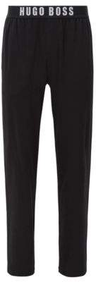 BOSS Hugo Modal Lounge Pant Long Pant EW L Black