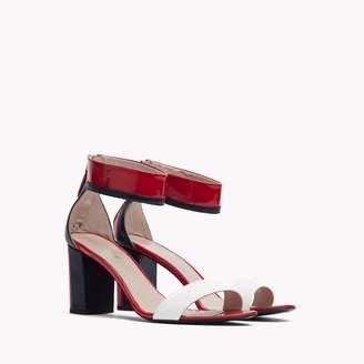 Tommy Hilfiger Patent Ankle Strap Sandal
