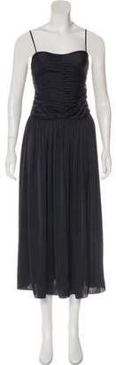 Creatures of Comfort Ruched Maxi Dress w/ Tags