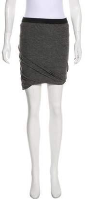 Alexander Wang Draped Knee-Length Skirt