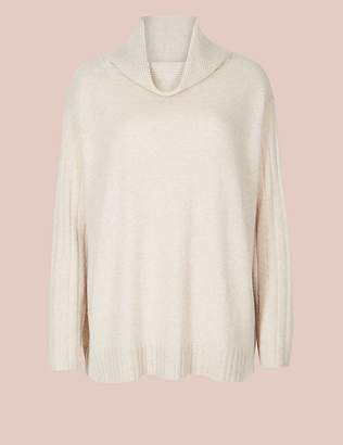 Marks and Spencer Pure Cashmere Long Sleeve Pyjama Top