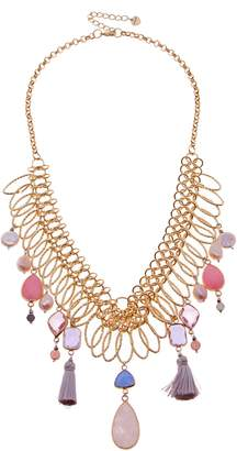 Nakamol Designs Collar Necklace with Stone Dangles