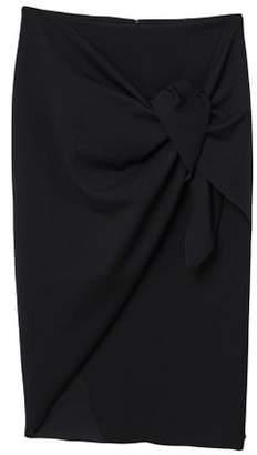 MANGO Knot midi skirt