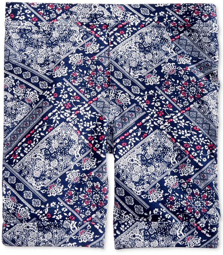 Epic Threads Mix and Match Bandana-Print Bermuda Shorts, Little Girls (4-6X), Created for Macy's