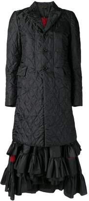Comme des Garcons padded coat dress