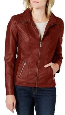 Style&Co. Style & Co. Petite Textured Moto Jacket