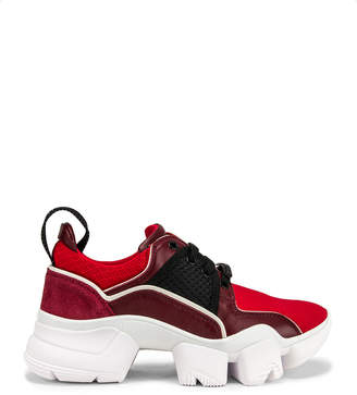 Givenchy Jaw Low Sneakers in Wine | FWRD