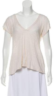 Marc by Marc Jacobs Sheer-Accented T-Shirt