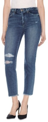 Women's Taylor Hill X Joe's Debbie High Rise Ankle Jeans $198 thestylecure.com