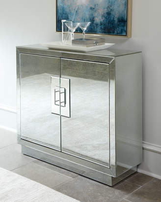 Horchow Lily Mirrored Cabinet