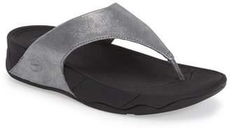 FitFlop Lulu Shimmer Suede Sandal