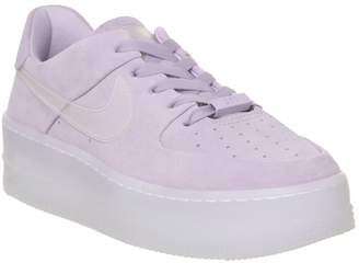 quality design 35da9 d4575 Nike Force 1 Sage Trainers Violet Mist Irridescent