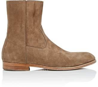 Buttero Men's Suede Side-Zip Boots