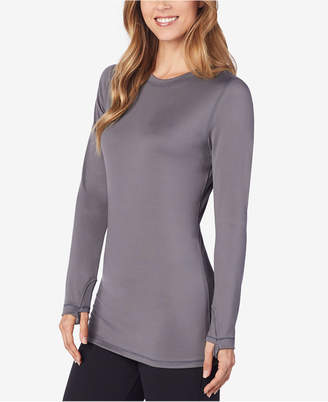 Cuddl Duds Far-Infrared Long-Sleeve Crew-Neck Top