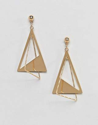 NY:LON statement earrings