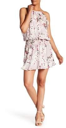 Parker William Silk Floral Printed Dress