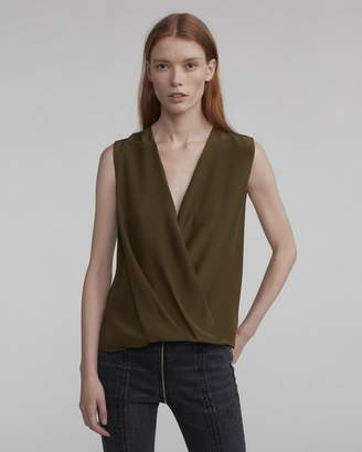 Rag & Bone Sleeveless victor blouse