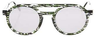 Thierry Lasry Gravity Mirrored Sunglasses w/ Tags