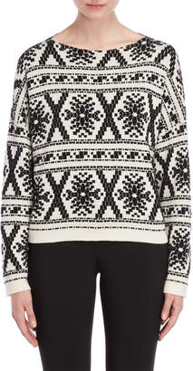 Roberto Collina Fairisle Patterned Sweater