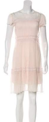 Needle & Thread Lace Knee-Length Dress