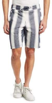Madison Supply Striped Cotton Shorts