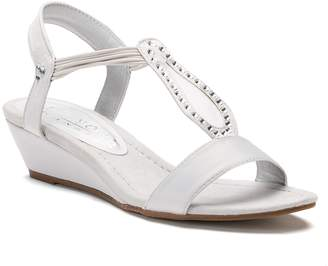 New York Transit Advanced One Women's Strappy Wedge Sandals