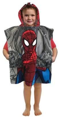 Spiderman Marvel Pocket Frenz Hooded Towel