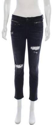 R 13 Mid-Rise Biker Boy Jeans w/ Tags