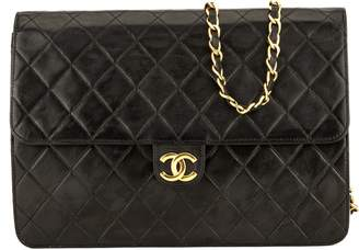 Chanel Black Quilted Lambskin Chain Clutch (3974013)