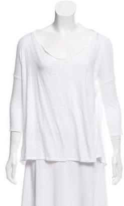 Calypso Asymmetrical Oversize T-Shirt