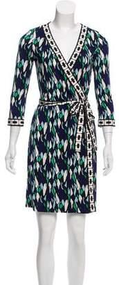 Diane von Furstenberg Silk New Julian Two Dress