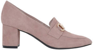 Basque Gretel Dusty Pink Suede Loafer