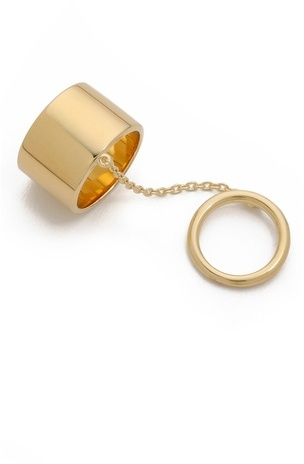 Elizabeth and James Mies Knuckle Ring