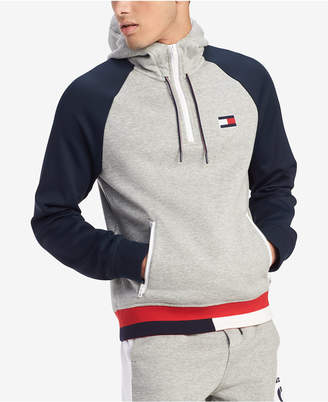 Tommy Hilfiger Men Big & Tall Logo Graphic Hoodie