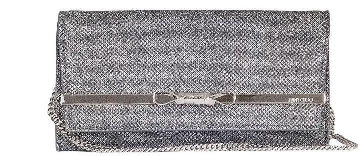 Jimmy ChooGlitter Clutch Bag