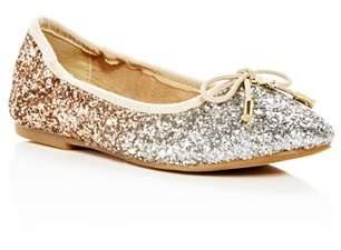 32c77ada8b69 Sam Edelman Girls  Felicia Ombré Glitter Ballet Flats - Toddler