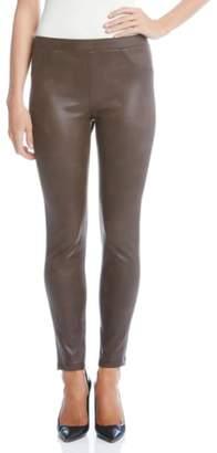 Karen Kane Karen Karen Stretch Faux Leather Skinny Pants