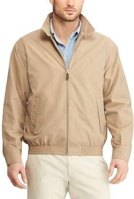 Chaps Big & Tall Twill Full-Zip Jacket