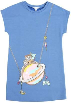 Little Marc Jacobs Bag Printed Cotton Sweatshirt Dress