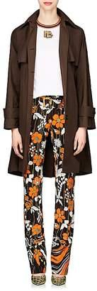 Prada Women's Tech-Taffeta Trench Coat