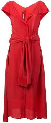 Sies Marjan waist-tied midi dress