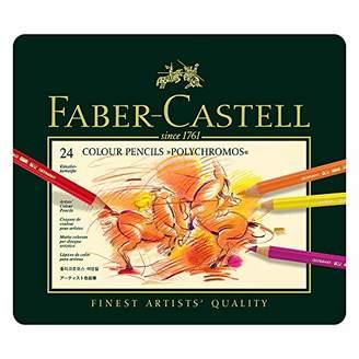 Faber-Castell Faber-Castel 24 Piece Polychromous Colored Pencil Set In Metal Tin