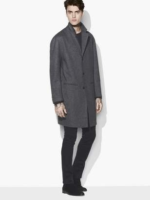 John Varvatos Drop Shoulder Coat