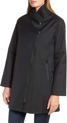 Trina Turk Tenley Asymmetrical Collar Coat