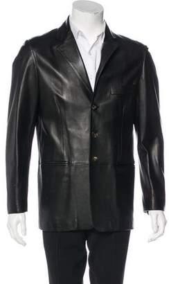 Bruno Magli Leather Sport Coat